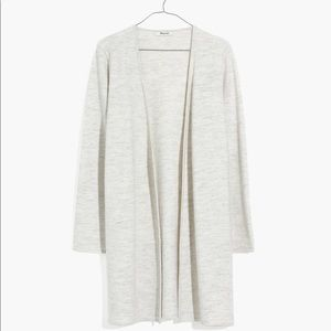 Madewell Lombard sweater coat